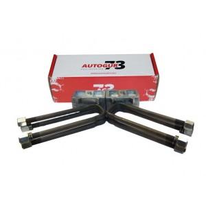 Autogur73 лифт-комплект рессора-мост 60 мм УАЗ Хантер/Патриот (на 1 мост) алюминий