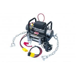 РИФ EWG9000U-KIT2 лебёдка переносная 9000 c площадкой на цепях и проводами, стал. трос