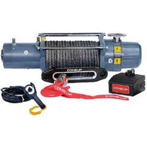 Электрическая лебедка ComeUp DV-12s light, 24V, 5.4т (с термодатчиком и синтетическим тросом)