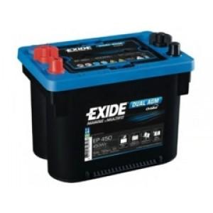 Exide EP450 аккумулятор гелевый, полярность прямая, 50 А·ч