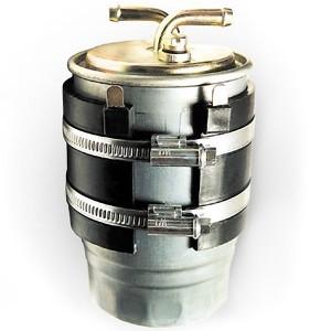 Номакон подогреватель фильтра тонкой очистки с кнопкой ПБ105 (Н67), 100Вт,  24В (Ø 73-86 мм)