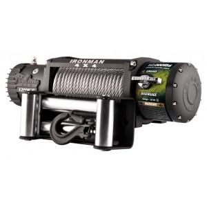 Ironman WWB12000 Monster Winch электрическая лебёдка 12V 5.4т (стальной трос, влагозащищенная)