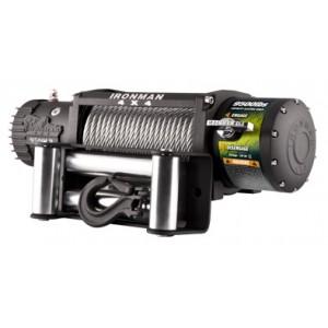 Ironman WWB 9500 Monster Winch электрическая лебёдка 12V 4.3т  (кевларовый трос, радиопульт, влагозащищенная)