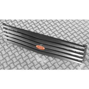 OJeep 12.016.01 решётка защитная радиатора (жалюзи) с кронштейнами и эмблемой OJ на Mitsubishi Pajero Sport I