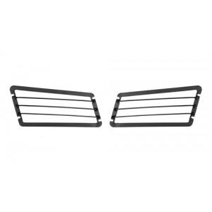 OJeep 12.047.01 комплект защитных решёток дополнительных фар (2 шт). Только для спортивных автомобилей или бездорожья.