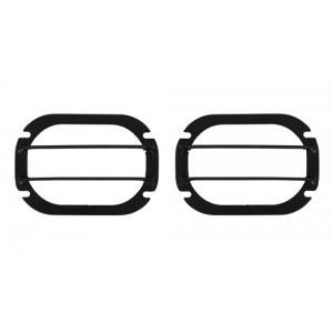 OJeep 12.239.01 комплект защитных решёток дополнительных фар (2 шт) 120х170 мм на Volkswagen Amarok 2010