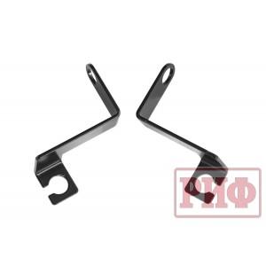РИФ RIF000-99022 кронштейны для переноса крепления тормозных шлангов УАЗ Патриот лифт 50 мм (элек. РК)