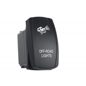 RIF22-1-1102400 переключатель ВКЛ/ВЫКЛ, белый, OFF-ROAD LIGHTS