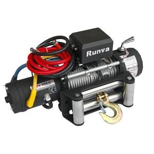 Runva 9500-Q EVO электрическая высокоскоростная лебедка 12V 4350 кг