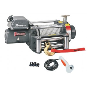 Runva EWN12000U24V электрическая индустриальная лебедка 24V 5700 кг