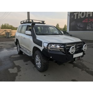 Сафари 4х4 силовой передний бампер на Toyota Land Cruiser 200