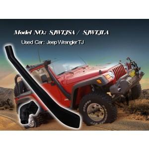 Шноркель SJWTJLA для Jeep Wrangler TJ 10/1999 - 10/2006 (бензин AMCI6 4.0л/I6)