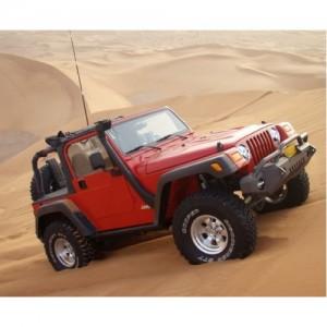 Шноркель SJWTJSA для Jeep Wrangler TJ 10/1992 - 10/1999 (бензин AMCI6 4.0л/I6)
