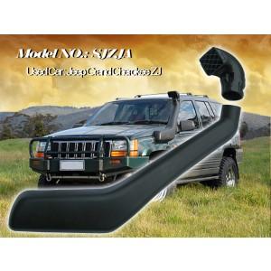 Шноркель SJZJA для Jeep Grand Cherokee ZJ (бензин MagnumV8 5.9л-V8/бензин MagnumV8 5.2л-V8/бензин AMCI6 4.0л-I6)