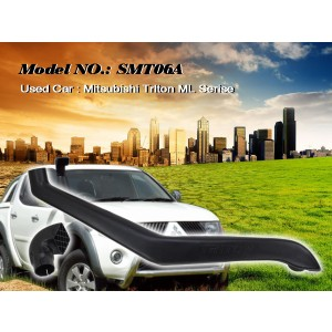 Шноркель SMT06A для Mitsubishi Triton, Pajero Sport (Сhelenger) (дизель 4M41-T 3.2л-I4)