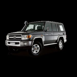Tough Dog подвеска на Toyota Land Cruiser 76 серии, V8