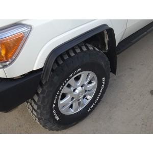 Tuning4WD расширители колесных арок (фендера) универсальные 20 мм