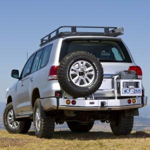 ARB силовой задний бампер с калиткой для Toyota Land Cruiser 200 (2007 - 2012)