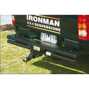 Бампер Ironman задний на Nissan Navara D40