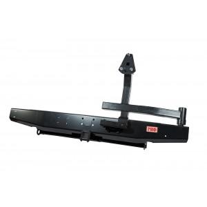 Бампер РИФ задний УАЗ Патриот с фаркопом и калиткой стандарт