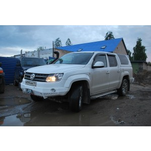 Тамерлан силовой бампер на Volkswagen Amarok передний
