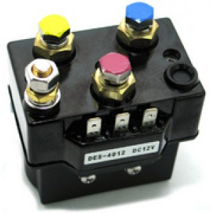 Контактор 400A, для лебедок ComeUp 12 V, DV-9/9i/12/12 light/15, Seal DS-9.5/9.5s/9.5rs, Seal DS-9.5i/9.5si/9.5rsi