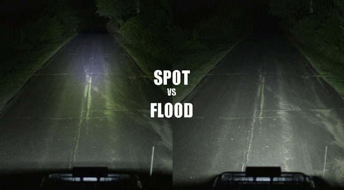 flood and spot